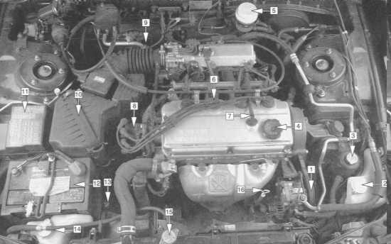 Схема двигателя в дэу-ланос
